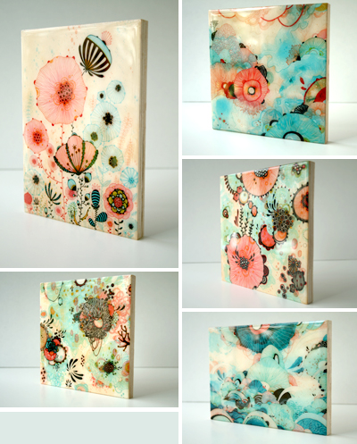 New Resin Coated Prints : : Yellena's Blog