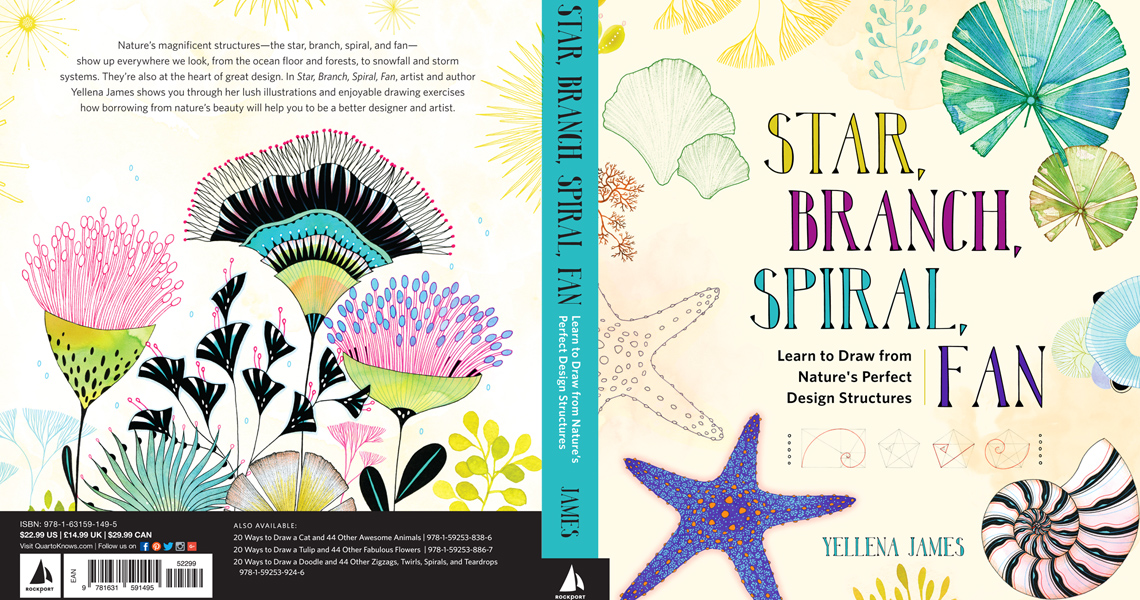 New book: Star, Branch, Spiral, Fan by Yellena James