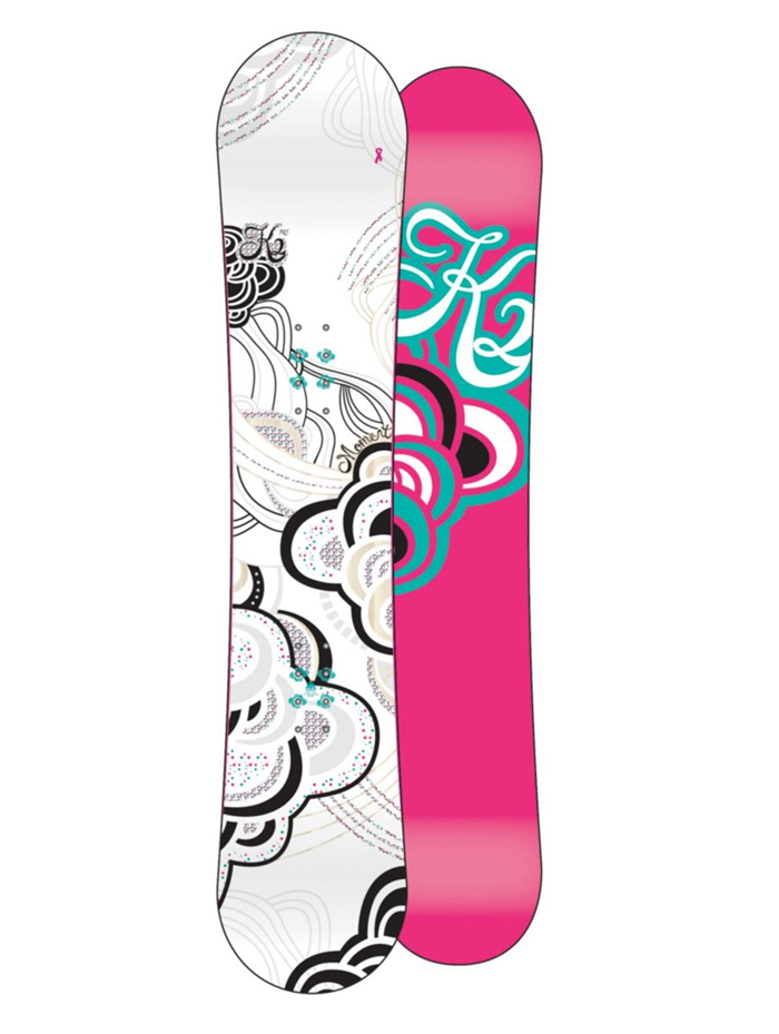 Yellena James K2 Snowboards